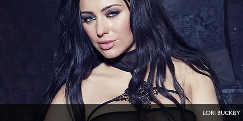 TelephoneModels.com Lori Buckby Babestation November 17th 2012 Lori Buckby Black See Through Strip Photoshoot