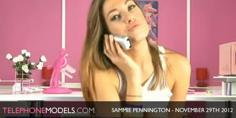 TelephoneModels.com Sammie Pennington Bluebird TV November 29th 2012 Sammie Pennington   Bluebird TV   November 29th 2012