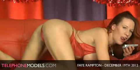 TelephoneModels.com Faye Rampton Bluebird TV December 19th 2012 Faye Rampton   Bluebird TV   December 19th 2012