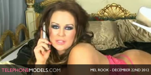 TelephoneModels.com Mel Rook Bluebird TV December 22nd 2012 Mel Rook   Bluebird TV   December 22nd 2012