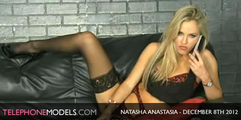 TelephoneModels.com Natasha Anastasia Bluebird TV December 8th 2012 Natasha Anastasia   Bluebird TV   December 8th 2012