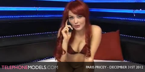 TelephoneModels.com Paris Pricey Babestation TV December 31st 2012 Paris Pricey   Babestation TV   December 31st 2012