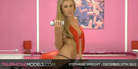 TelephoneModels.com Stephanie Wright Bluebird TV December 27th 2012 Stephanie Wright   Bluebird TV   December 27th 2012