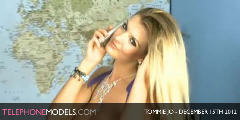TelephoneModels.com Tommie Jo Bluebird TV December 15 2012 Tommie Jo   Bluebird TV   December 15th 2012