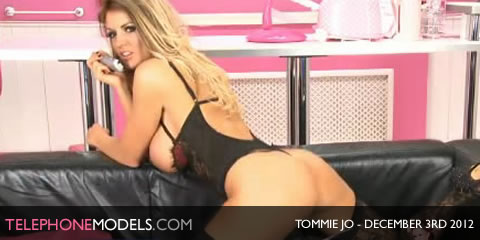 TelephoneModels.com Tommie Jo Bluebird TV December 3rd 2012 Tommie Jo   Bluebird TV   December 3rd 2012