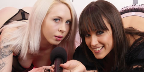 TelephoneModels.com Ashleigh Doll Lucy Love Shebang TV January 25th 2013 1 Shebang TV Live Show Recap January 21st 27th 2013