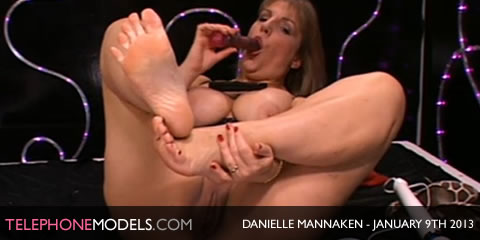 TelephoneModels.com Danielle Mannaken January 9th 2013 Danielle Mannaken   Sex Station   January 9th 2013