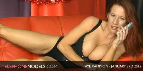 TelephoneModels.com Faye Rampton Bluebird TV January 3rd 2013 Faye Rampton   Bluebird TV   January 3rd 2013