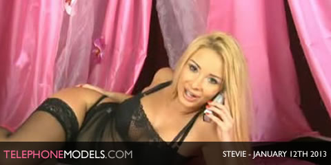 TelephoneModels.com Stevie Bluebird TV January 12th 2013 Stevie   Bluebird TV   January 12th 2013