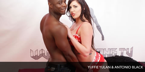 TelephoneModels.com Yuffie Yulan Antonio Black Shebang TV January 6th 2013 Yuffie Yulan & Antonio Black Shebang TV Hardcore Boy/Girl Show