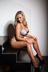 TelephoneModels.com Jodie Gasson 2 1 200x300 Jodie Gasson Stripping On The Stairs