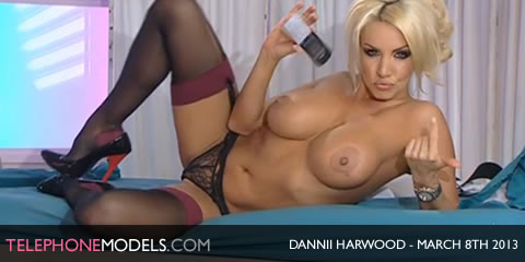 TelephoneModels.com Dannii Harwood Playboy TV Chat March 8th 2013 Dannii Harwood   Playboy TV Chat   March 8th 2013
