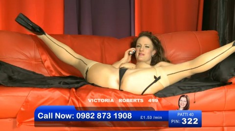 TelephoneModels.com 08 04 2013 00 36 37 480x268 Victoria Roberts   Bluebird TV   April 8th 2013