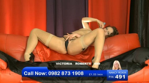 TelephoneModels.com 08 04 2013 01 07 01 480x268 Victoria Roberts   Bluebird TV   April 8th 2013