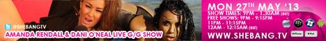 468x608 Amanda Rendall & Dani ONeal Shebang TV Hardcore G/G Live Show Tonight