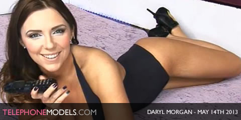 TelephoneModels.com Daryl Morgan Babestation TV May 14th 2013 Daryl Morgan   Babestation   May 14th 2013