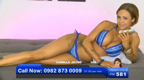 TelephoneModels.com 02 06 2013 21 10 02 480x267 Camilla Jayne   Bluebird TV   June 3rd 2013
