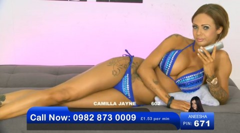 TelephoneModels.com 02 06 2013 21 10 27 480x267 Camilla Jayne   Bluebird TV   June 3rd 2013