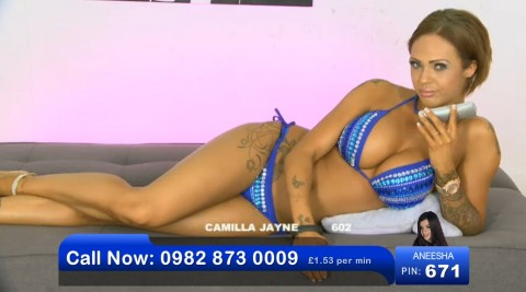 TelephoneModels.com 02 06 2013 21 16 27 480x267 Camilla Jayne   Bluebird TV   June 3rd 2013