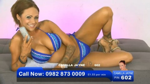 TelephoneModels.com 02 06 2013 21 43 53 480x269 Camilla Jayne   Bluebird TV   June 3rd 2013