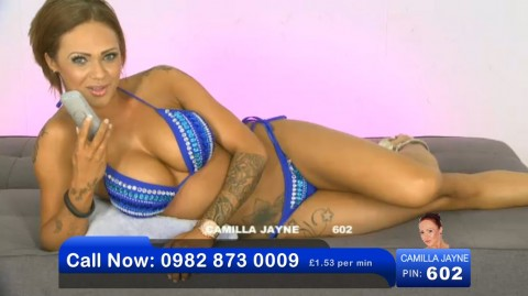 TelephoneModels.com 02 06 2013 21 43 55 480x269 Camilla Jayne   Bluebird TV   June 3rd 2013