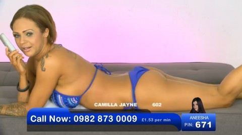TelephoneModels.com 02 06 2013 21 47 49 480x269 Camilla Jayne   Bluebird TV   June 3rd 2013