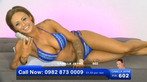 TelephoneModels.com 02 06 2013 21 48 05 480x269 Camilla Jayne   Bluebird TV   June 3rd 2013