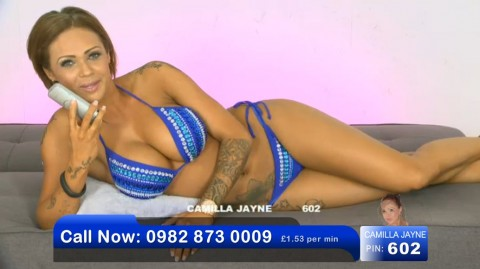 TelephoneModels.com 02 06 2013 21 48 10 480x269 Camilla Jayne   Bluebird TV   June 3rd 2013