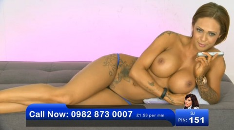 TelephoneModels.com 02 06 2013 23 16 16 480x268 Camilla Jayne   Bluebird TV   June 3rd 2013