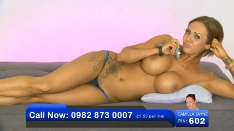 TelephoneModels.com 02 06 2013 23 18 14 480x268 Camilla Jayne   Bluebird TV   June 3rd 2013