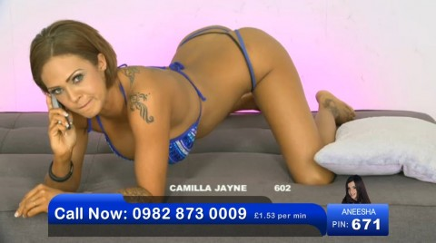 TelephoneModels.com 03 06 2013 00 46 15 480x268 Camilla Jayne   Bluebird TV   June 3rd 2013