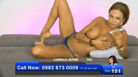 TelephoneModels.com 03 06 2013 00 50 04 480x268 Camilla Jayne   Bluebird TV   June 3rd 2013