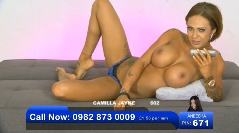 TelephoneModels.com 03 06 2013 00 50 23 480x268 Camilla Jayne   Bluebird TV   June 3rd 2013