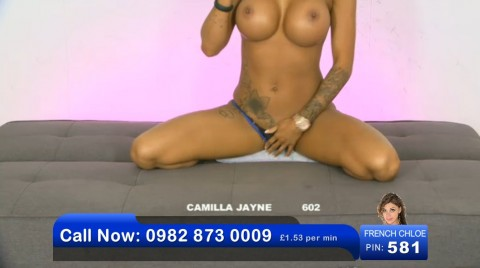 TelephoneModels.com 03 06 2013 00 50 56 480x268 Camilla Jayne   Bluebird TV   June 3rd 2013