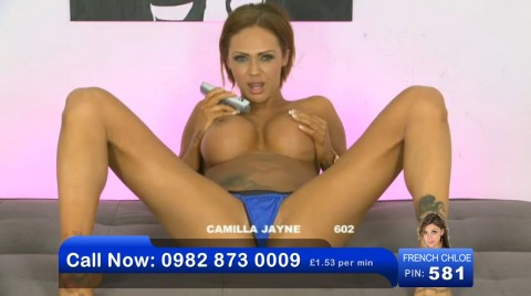 TelephoneModels.com 03 06 2013 00 53 41 480x268 Camilla Jayne   Bluebird TV   June 3rd 2013