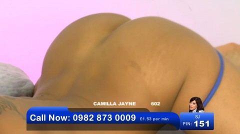 TelephoneModels.com 03 06 2013 00 55 14 480x268 Camilla Jayne   Bluebird TV   June 3rd 2013
