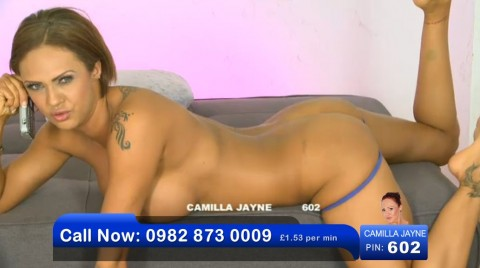 TelephoneModels.com 03 06 2013 00 57 51 480x268 Camilla Jayne   Bluebird TV   June 3rd 2013