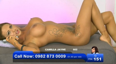TelephoneModels.com 03 06 2013 00 58 48 480x268 Camilla Jayne   Bluebird TV   June 3rd 2013