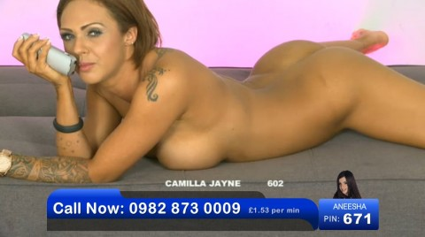TelephoneModels.com 03 06 2013 01 41 41 480x268 Camilla Jayne   Bluebird TV   June 3rd 2013