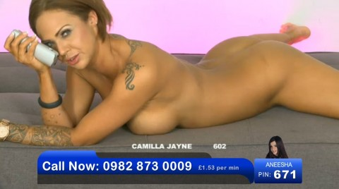 TelephoneModels.com 03 06 2013 01 41 46 480x268 Camilla Jayne   Bluebird TV   June 3rd 2013
