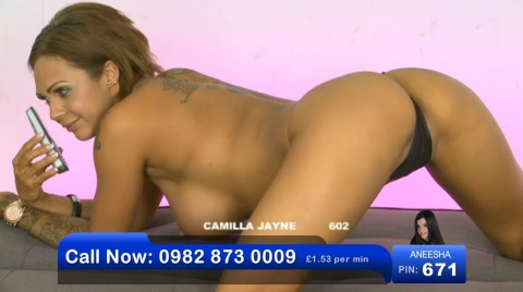 TelephoneModels.com 03 06 2013 01 54 01 480x268 Camilla Jayne   Bluebird TV   June 3rd 2013