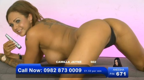 TelephoneModels.com 03 06 2013 01 54 07 480x268 Camilla Jayne   Bluebird TV   June 3rd 2013