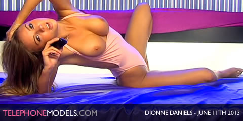 TelephoneModels.com Dionne Daniels Studio 66 TV June 11th 2013 Dionne Daniels   Studio 66 TV   June 11th 2013