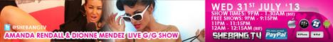 468x606 Amanda Rendall & Dionne Mendez Shebang TV Hardcore Girl/Girl Live Show Tonight