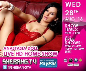 300x2507 Anastasia Doll Shebang TV Live Home Show Tonight