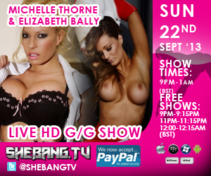300x2509 Michelle Thorne & Elizabeth Bally Shebang TV Hardcore Girl/Girl Show Tonight