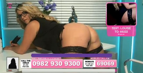 TelephoneModels.com 25 09 2013 22 56 12 480x246 Louise Porter   Babestation TV   September 26th 2013