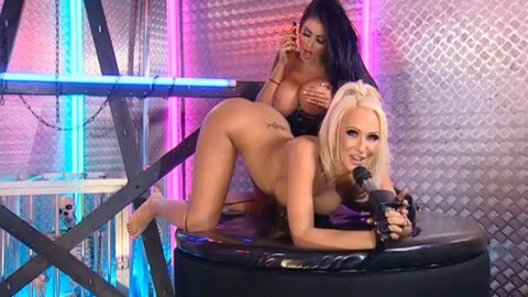 TelephoneModels.com 28 09 2013 01 54 01 480x270 Lucy Summers & Yasmine James   Playboy TV Chat   September 28th 2013