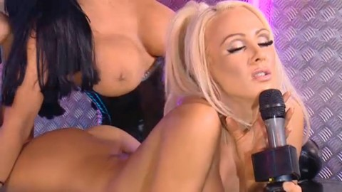 TelephoneModels.com 28 09 2013 01 54 34 480x270 Lucy Summers & Yasmine James   Playboy TV Chat   September 28th 2013