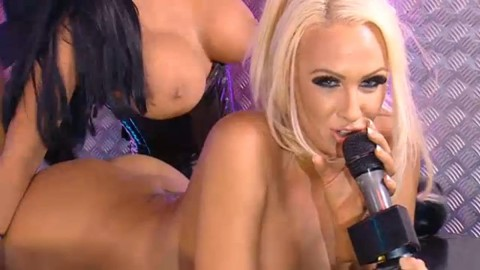 TelephoneModels.com 28 09 2013 01 54 36 480x270 Lucy Summers & Yasmine James   Playboy TV Chat   September 28th 2013